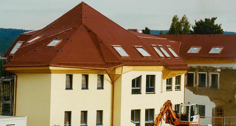 anspruchsvolle Dachformen mit Bitumenschindeln