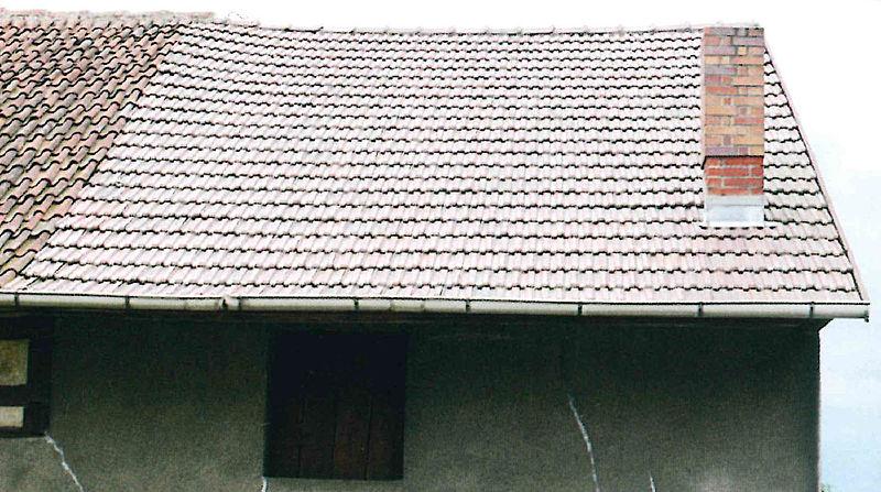 Durchhängendes Dach