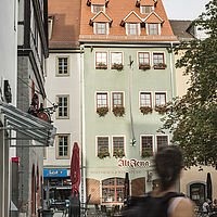 """Gaststätte """"Alt Jena"""" in Jena, Markt 9"""