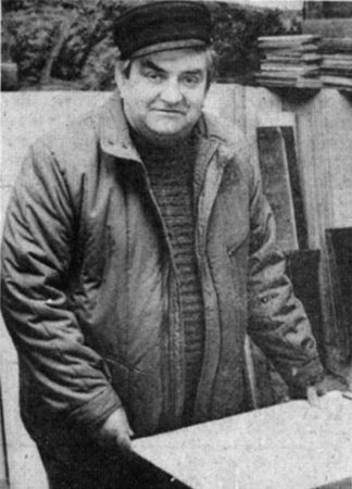 Dachdeckermeister Manfred Oeser